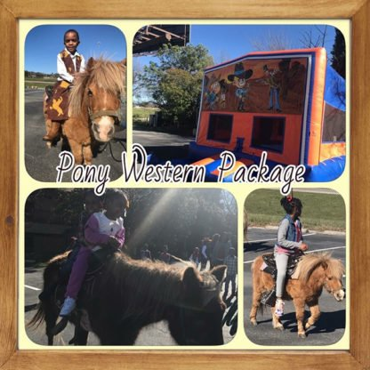 Pony Western Package