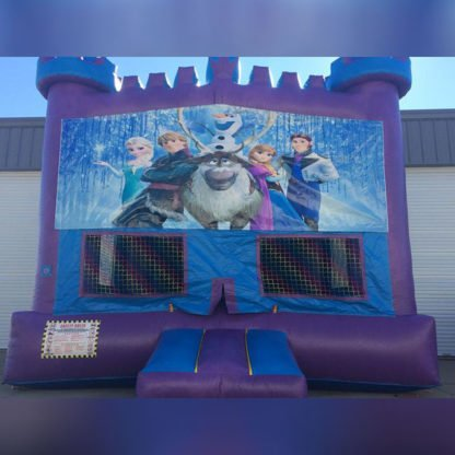 Frozen Themed Moonwalk