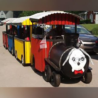 Trackless Train (Peabody Express)