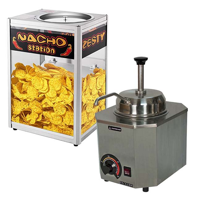 Nacho Cheese Warmer For Home Use